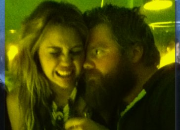 Miley Cyrus and Ryan Dunn