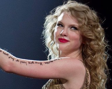 Taylor Swift Has Writt... Ashlee Simpson Lyrics