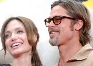 Angelina Jolie And Brad Pit