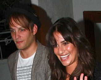 Theo Stockman and Lea Michele