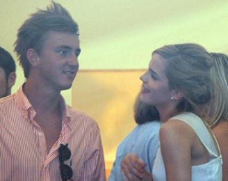 Francis Boulle and Emma Watson