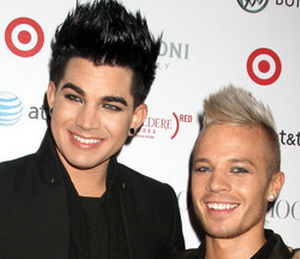 Adam Lambert and Sauli Koskinen