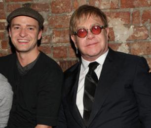 Justin Timberlake and Elton John