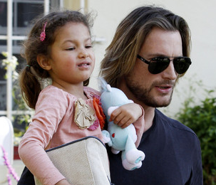 Nahla and Gabriel Aubry