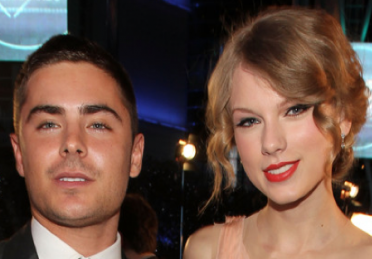 Zac Efron and Taylor Swift