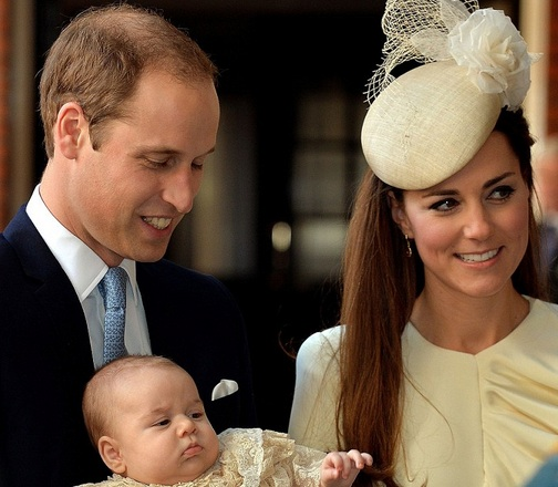 prince george christening, royal baby news, kate middleton baby, prince william baby