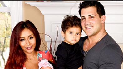 snooki, snooki baby, giovanna marie lavalle, giovanna family portrait