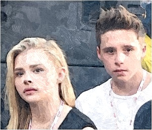 brooklyn beckham, photos of brooklyn beckham, brooklyn beckham news, chloe moretz