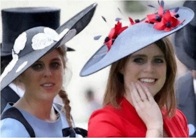 princess beatrice and princess eugenie, princess beatrice and eugenia, princess eugenie of york and princess beatrice of york, princess beatrice and eugene