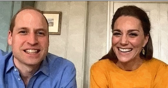 Duchess Kate And Prince William Made A Video Call To The Kids of Key Workers In Front line Service