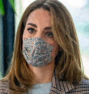 Duchess Kate Visits Derby University To Know How Pandemic Affect Student's Mental Health