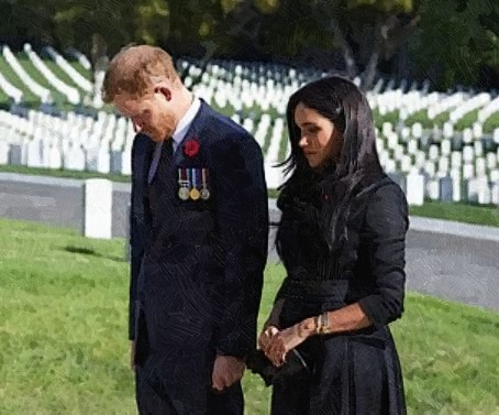 Prince Harry And Meghan Markle Personally Visited Los Angeles National Cemetery After Request Was Declined By Buckingham Palace