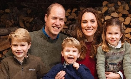 Prince William and Duchess Kate Posed For 2020 Christmas Family Card